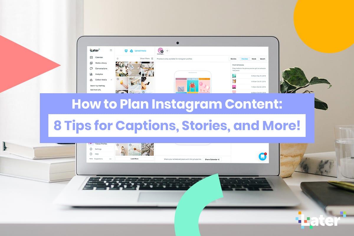 Planifier le contenu Instagram