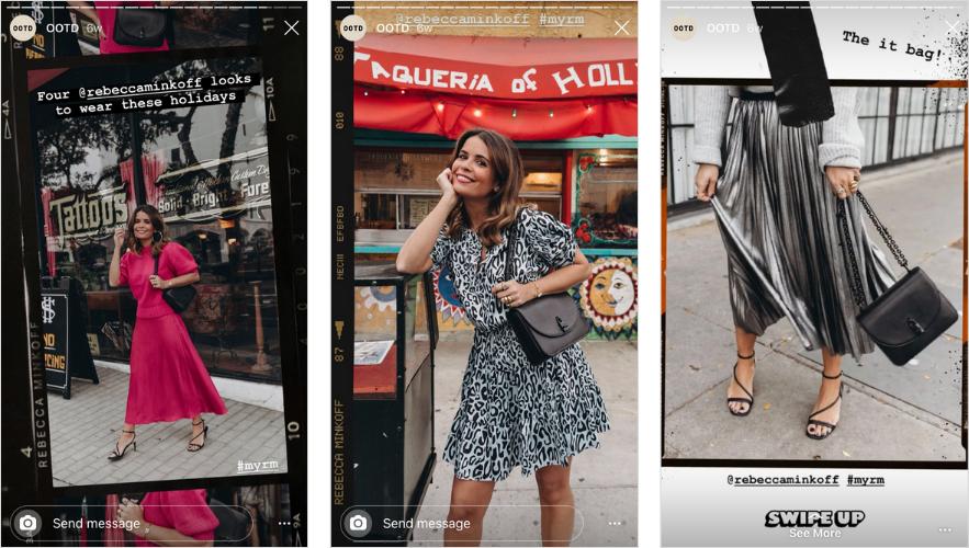 Applications pour Instagram Stories: Déplier Collage Vintage