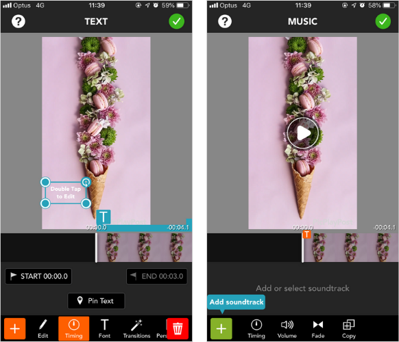 Meilleures applications de montage vidéo mobile